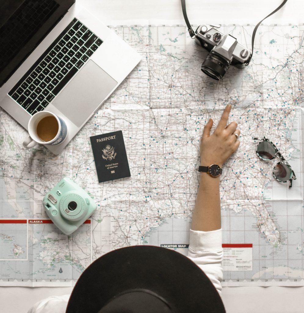 Maps_camera_laptop_Branson_Travel_Group_Tips